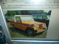 ***WANTED*** 1967-73 JEEP TOP OR WHOLE JEEPSTERS