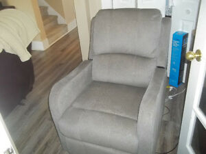 grey lady recliner electric