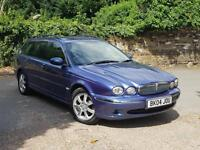 Jaguar X-TYPE 2.0D SE LOW MILES + FULL LEATHER