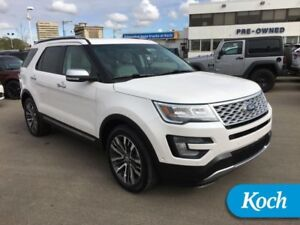 2017 Ford Explorer Platinum  0.0%x60 Available, Moonroof, Leathe