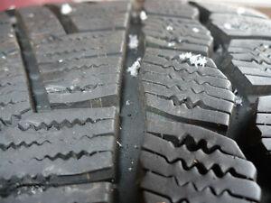 Snow tires and rims. Peterborough Peterborough Area image 4