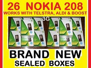 $1300 NEW 3G NOKIA 208 x 26 TELSTRA LOCKED O Castle Hill The Hills District Preview