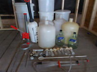Wine making equipment