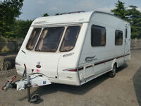 Swift Kingsmere. (2004) 6 Berth, Rear Fixed Bunks and Side Dinette. Used Tourer