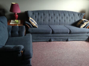 2 Piece Couch & Chair Set