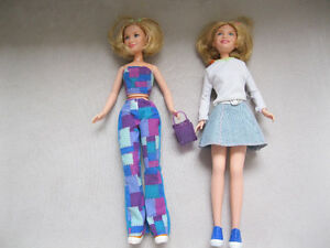 Mary Kate and Ashley Olsen Dolls with accesories West Island Greater Montréal image 1