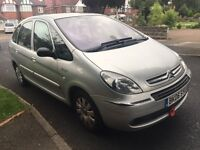 CITROEN XSARA PICASSO 1.6 EXCLUSIVE 12 MONTHS MOT 2006 STARTS AND DRIVES PERFECT
