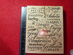 SCRAPBOOKING STAMP SETS Prices as marked....