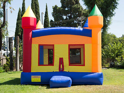 NEW Heavy Duty Commercial Grade Castle Inflatable Jumper Bounce House 100% PVC