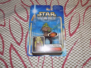 STAR WARS, ATTACK OF THE CLONES, KIT FISTO, ACTION FIGURE, 2002