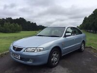 2000 MAZDA 626 GSI 2.0 AUTO, SALOON***LONG MOT***FULL SERVICE HISTORY***WELL LOOKED AFTER EXAMPLE