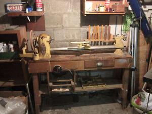 Myford ML8 8 inch wood Lathe
