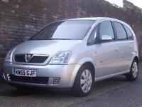 Vauxhall/Opel Meriva 1.4i 16v (a/c) Design 2006(55) 5 Door MPV