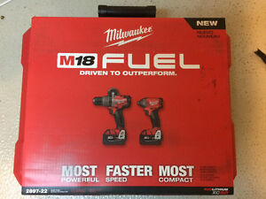 Ensemble de 2 outils Milwaukee M18 Fuel!