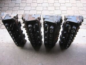 """305 Chev  """"416"""" Cylinder Heads Complete $50 for all four of them"""