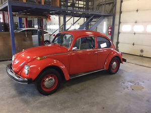 1971 Volkswagen SuperBeetle Semi Automatique