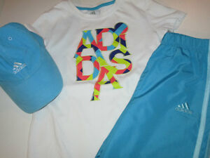Girls Clothing Lot #5 - size 6/7 Adidas in Turquoise Belleville Belleville Area image 3