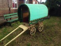 Kids miniature bowtop gypsy wagon (hobby tabbert lmc caravan) £2500