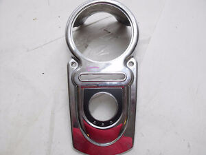 Harley Davidson Switchback FLD Gas Fuel Tank Gauge Bezel Cover