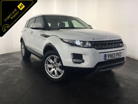 2013 RANGE ROVER EVOQUE PURE TECH ED4 DIESEL 1 OWNER SERVICE HISTORY FINANCE PX