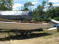 Two Lightning Class sailboats for sale