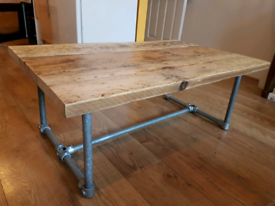 Industrial/ rustic coffee table