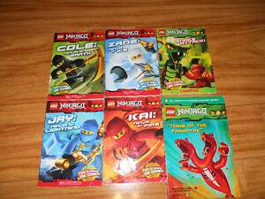 Lego Chima ,Ninjago ,Star Wars Kids Books $1 each
