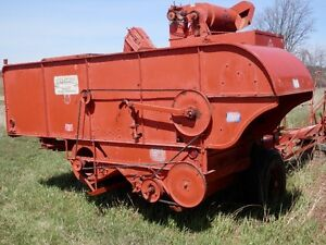 "Allis-Chalmers 72"" All Crop Harvester"