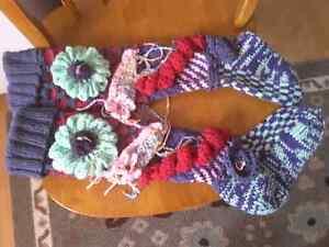 Bonnet et foulard ,bas fashions, et deco