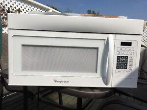 Range hood microwave