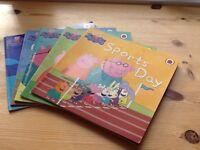 Set of 5 Peppa Pig books