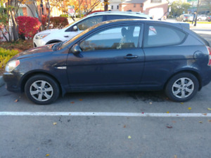 2009 Hyundai Accent Hatchback 144000km. Saftied and e tested.