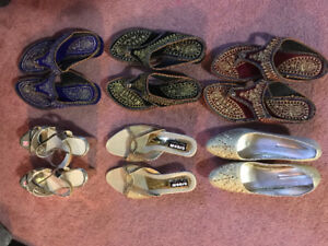 Various sizes quality shoes.