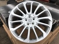 "22"" alloy wheels alloys rims tyre tyres 5x120 Vw Volkswagen transporter t5 t6 land Range Rover"