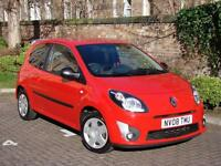 EXCELLENT VALUE!! RED 2008 RENAULT TWINGO 1.2 EXTREME 3dr, LONG MOT, WARRANTY