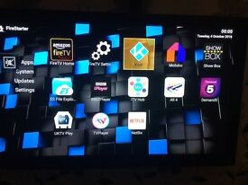 Amazon BNIB TV FireStick Kodi 16.1 Modbro FireStarter Showbox