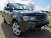 2009 Land Rover Range Rover Sport TDV6 HSE Diesel green Automatic