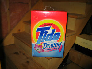 4 NEW BOXES OF TIDE WITH DOWNY MAKE ME AN OFFER Peterborough Peterborough Area image 3