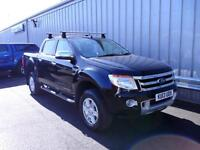 Ford Ranger 2.2TDCi 150PS 4x4 Auto Double Cab Limited in Black+ Nav&Cam - Onsite