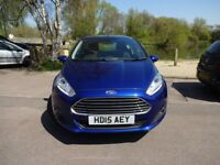 Ford Fiesta Zetec 1.25 82PS (blue) 2015
