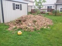 $100 to remove our pile of fill