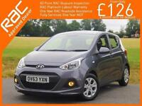 2014 Hyundai i10 1.0 SE 5 Door 5 Speed Air Conditioning Only 20,000 Miles Full H