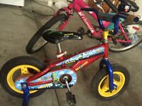 Toy story bike with training wheels $25