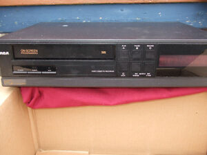 TWO  VCRs  and 35 VHS movies