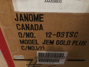 Janome Sewing Machine- New