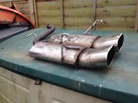 Ford Fiesta Zetec s mk 5 centre exhaust backbox£60,no offers