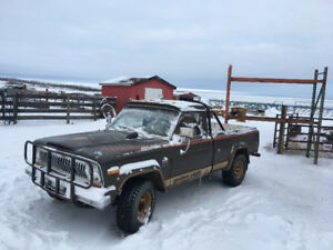 1977 Jeep J 10 Golden Eagle