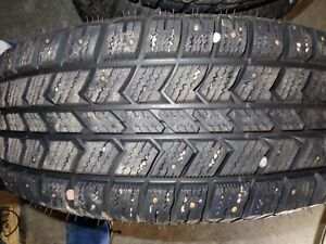Studded winter tires on rims, F.Expedition 98 or 1/2 ton Ford Prince George British Columbia image 3