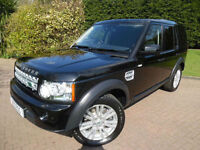2013 Land Rover Discovery 4 3.0 TDV6 210bhp AUTOMATIC WITH AIR/CON
