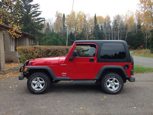 Jeep Wrangler Tires and Stock Rims